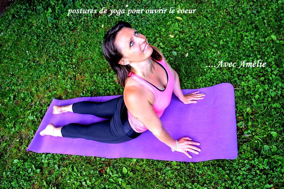 Postures de yoga pour ouvrir le chakra du coeur