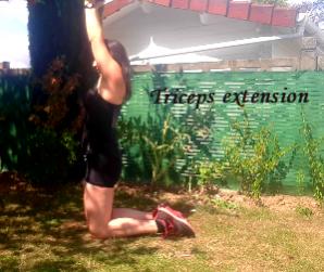 vidéo: triceps extension avec un disque