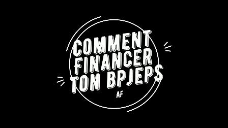 Vidéo: Comment financer son bpjeps (formation coach)