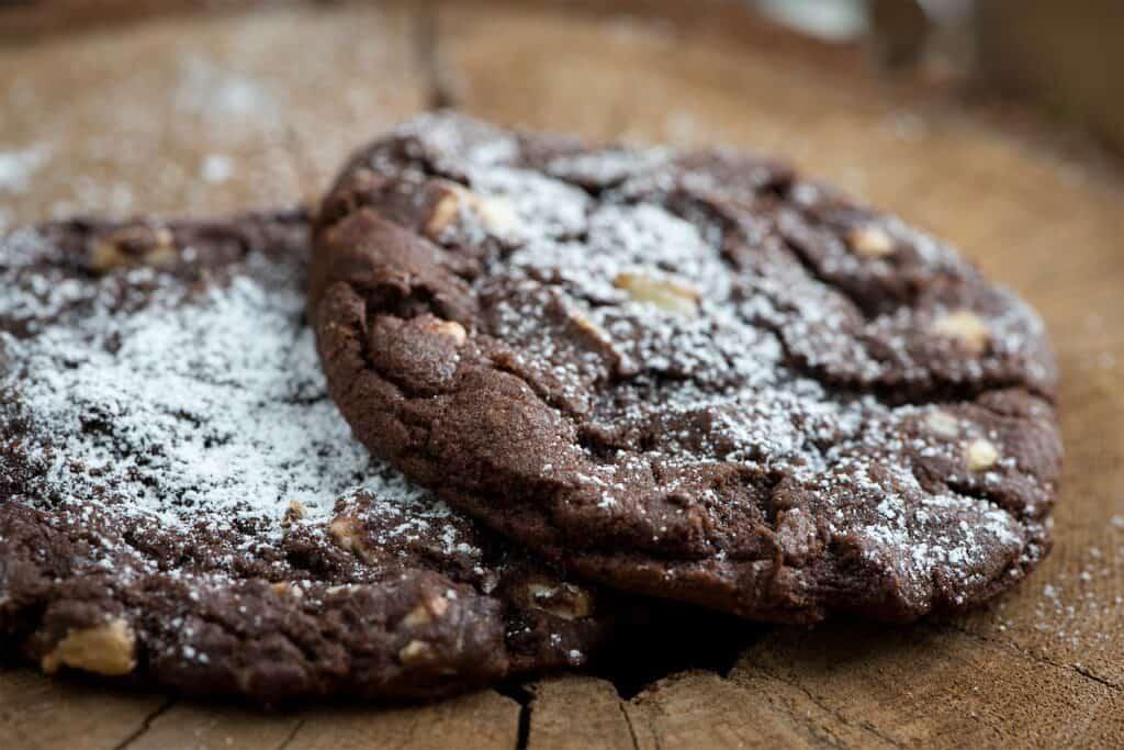 Cookies diététiques et énergétiques chocolat banane