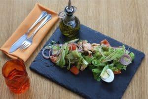 Salade rafraichissante protéinée
