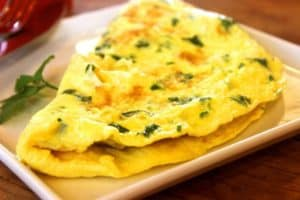 L'omelette hyperprotéinée du sportif
