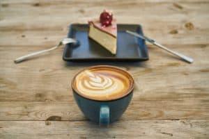 Cheesecake diététique café Chicorée saveur noisette