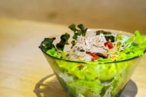 Salade de la mer protéinée