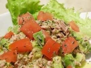 Salade de thon à la persillade