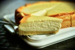 Cheesecake abricot cannelle (allégé et protéiné)