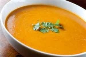 soupe allégée au potiron
