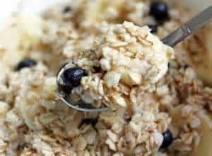 Porridge façon pina colada