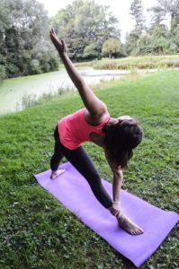 Yoga:Les bienfaits de la posture du triangle