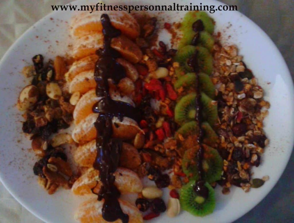 Idée p'tit déj : granola aux fruits