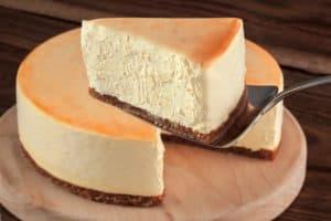 Cheesecake poire amande (allégé et protéiné)