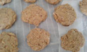 Biscuits citron noix de coco façon barre crue