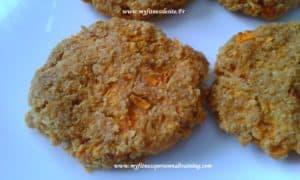 Biscuits crus allégés au potiron