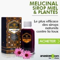 Anastore - MELICINAL Sirop Miel & Plantes