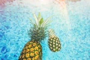 L'ananas contre les oedèmes et les entorses