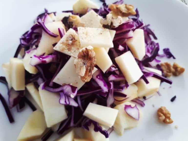 Salade de chou d'automne