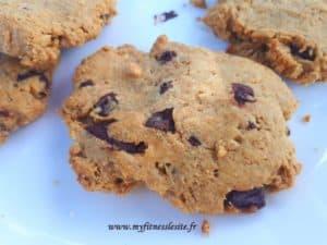 Cookies chocolat et beurre de cacahuètes