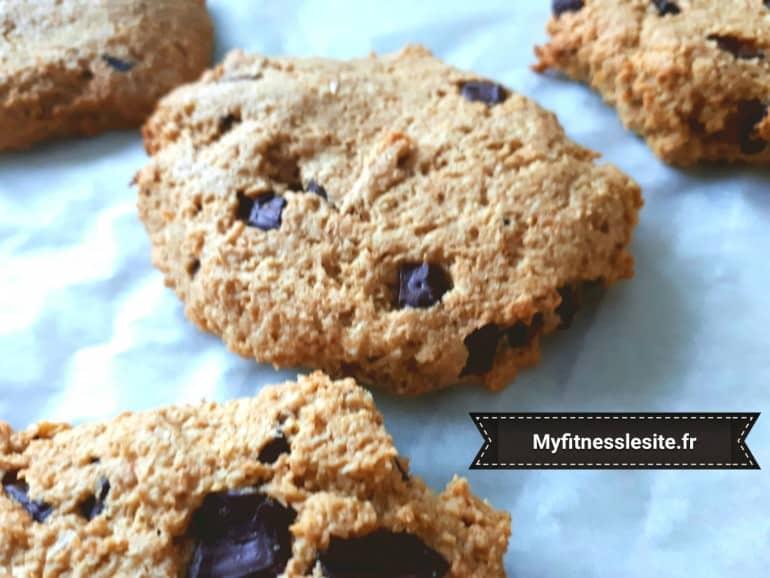 Cookie coco choco à la farine d'avoine