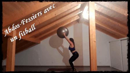 vidéo: abdo-fessiers avec un fitball