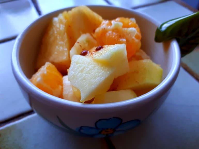 Salade de fruits détox