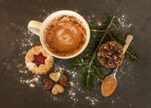 Chocolat chaud spécial noël