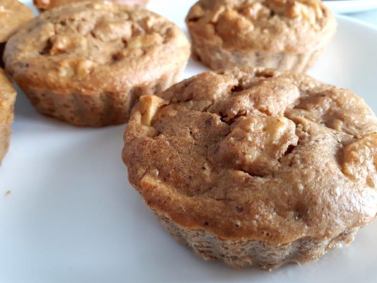 Délices pomme noisette façon muffin