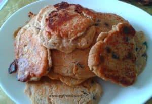 Pancakes protéinées de noël façon stolen