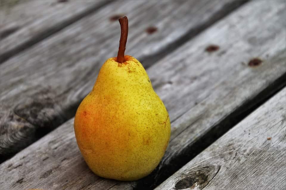 la poire: source de fructose et de fibres pour le sportif