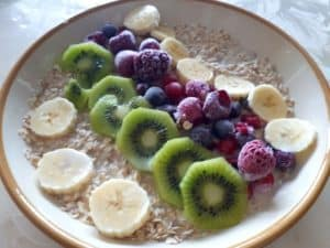 Porridge fruité