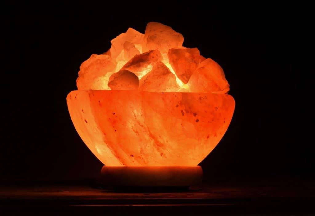 Les bienfaits de la lampe de sel