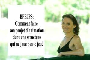 BPJEPS: réussir son projet d'animation dans une structure qui ne joue pas le jeu