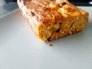 Cake au potiron et à la noix de coco