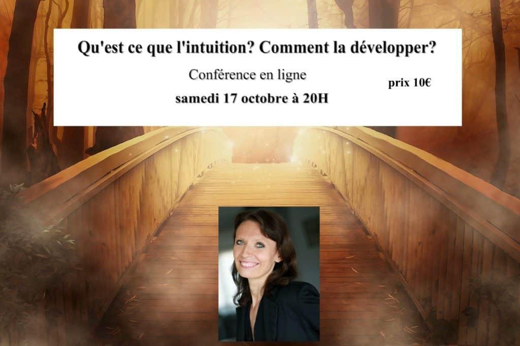 Conférence en ligne qu'est ce que l'intuition et comment la développer?
