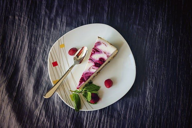 Cheesecake citron framboise vegan et allégé