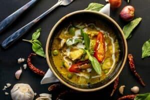 Curry de légume anti-inflammatoire