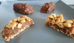 snickers maison healthy vegan et protéiné